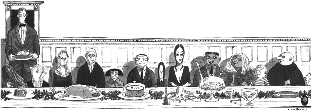 Addams Family Dinner